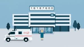 Medesso - Qonsilus Hospital Erklärfilm - Motion-Design