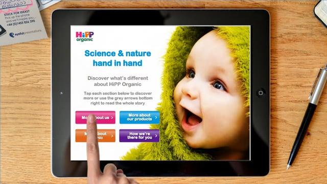HiPP Presentation Example - Graphic Design