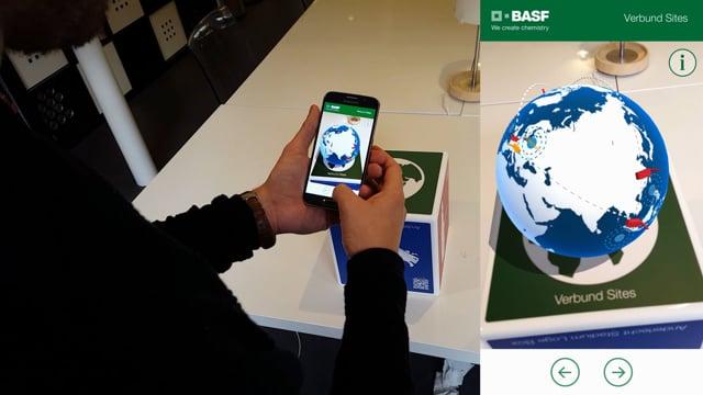 BASF - Augmented Reality Cube