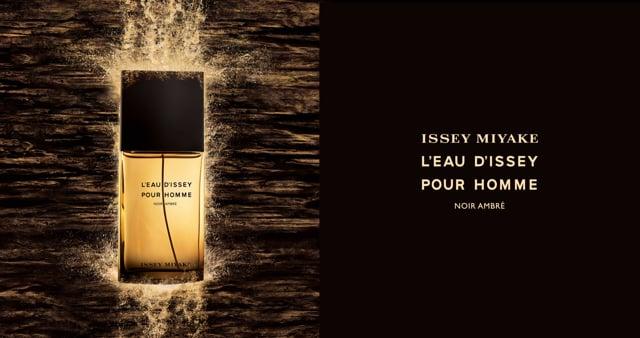 Issey Miyake - Eau d'Issey Noir ambré - Vidéo