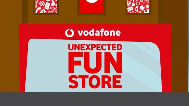 Vodafone - Publicidad e innovación retail. - Branding y posicionamiento de marca