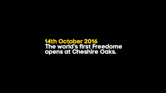 Freedome: A new active entertainment brand.