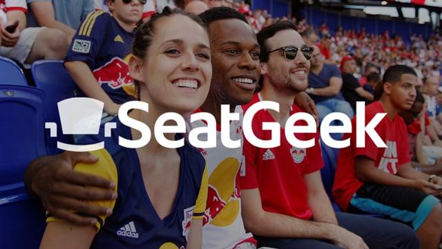 """SeatGeek """"Fan Experience"""" - Social Media"""