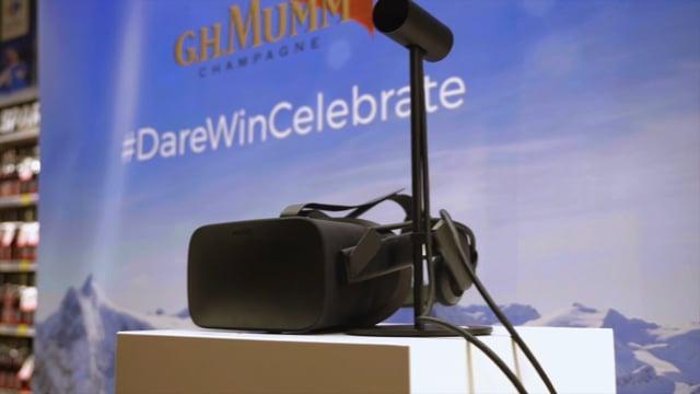 Mumm - Dare Win Celebrate - Stratégie digitale