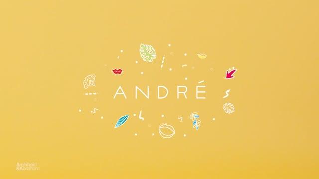 ANDRÉ - CAMPAGNE PE 2017 - Publicité