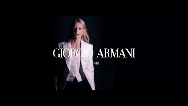 Campagne Armani Sì - Stratégie de contenu