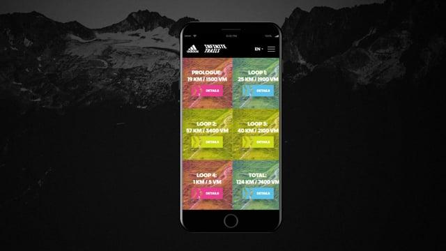adidas INFINITE TRAILS World Championships Word... - Webseitengestaltung