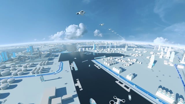The Port of the Future - Port of Antwerp - 3D