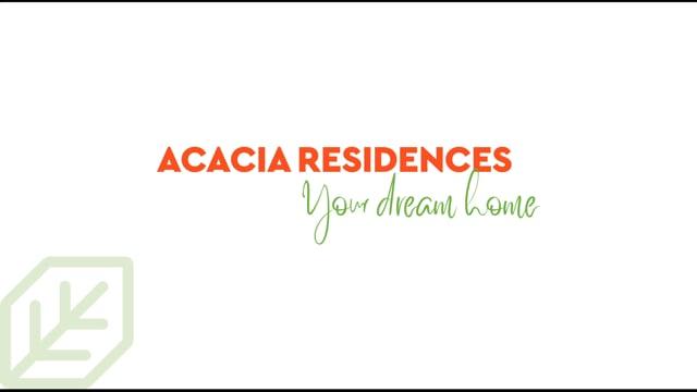 Acacia Résidences - Vidéo de présentation en 3D - 3D