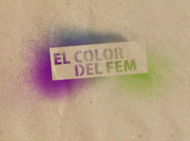 El color del fem - Diseño Gráfico