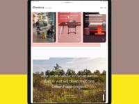 Drentea.nl  website design - Digital Strategy