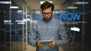 INDUSTRY 4.0 IN THE HERE AND NOW! - Werbung
