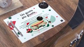 Panino Giusto Augmented Reality menu - Motion Design
