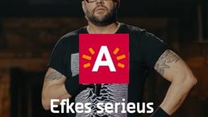 Stad Antwerpen - Efkes serieus - Image de marque & branding