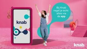 Online campagne voor Knab bank