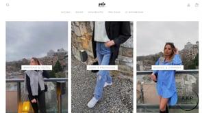 Création d'une boutique en ligne pour Pure Concept - E-commerce