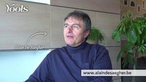 Testimonial Alain De Saeger - Website Creatie