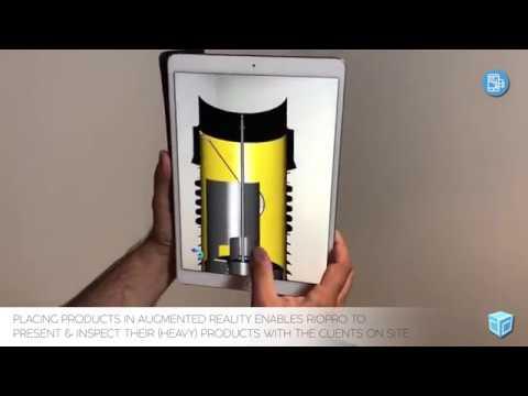 AR-Presentation of RioPro - Innovatie