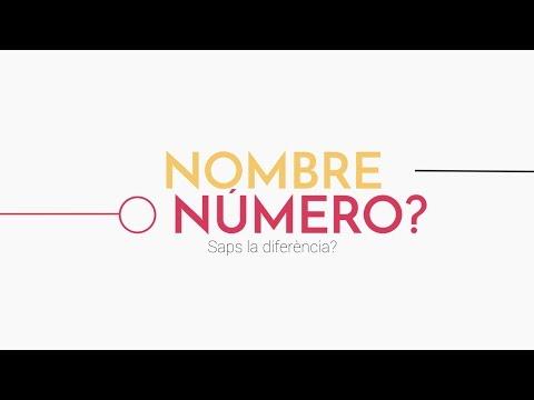 Dubtes entre 'nombre' i 'número'? - Redes Sociales