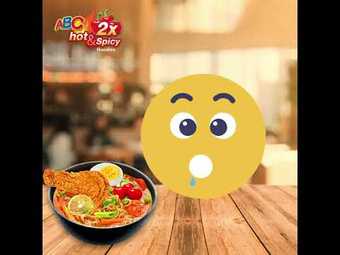 ABC Hot and Spicy noodles- Mood Happy