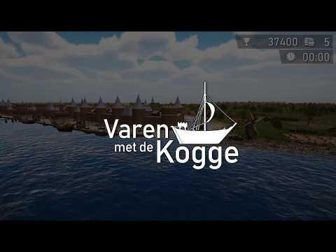 Varen met de kogge / Sailing with the kog - Gaming