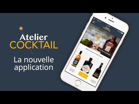 Atelier Cocktail - Application mobile
