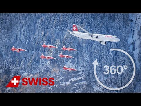 SWISS presents a 360° view of Lauberhorn - Motion-Design