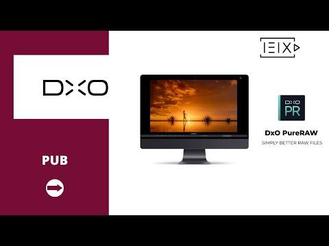 DxO PureRAW - Vidéo