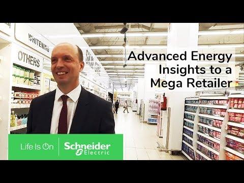 EcoStruxure : Carrefour - Schneider Electric - Vidéo