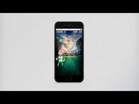 Football Game Banner Unibet - Online Advertising