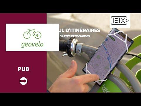 Cyclyk & Geovelo - Ride Smart - Animation