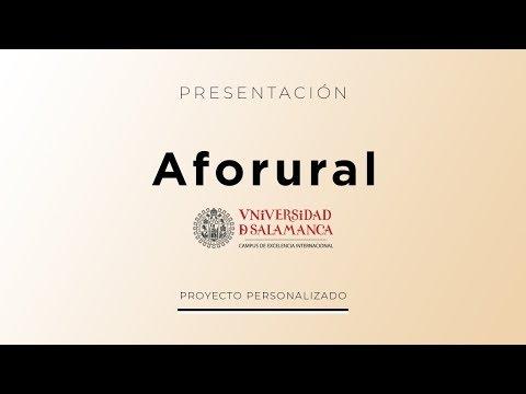 Plataforma Aforural - Creación de Sitios Web