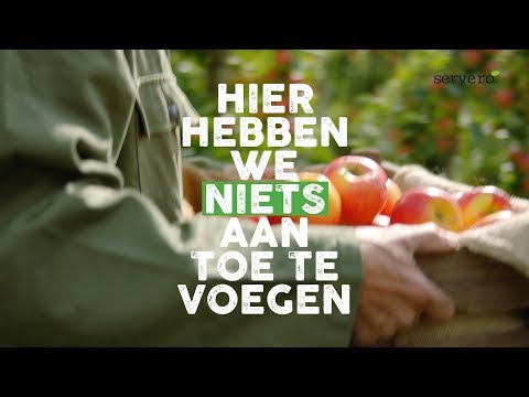 Introduction campaign Servero 100% Appelmoes - Branding & Positionering