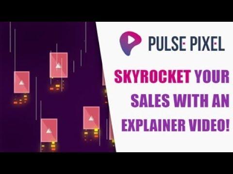 Pulse Pixel - Company Explainer Video - Motion Design