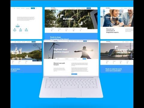 Tractebel, plateforme mondiale de recrutement - Application web