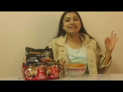 ABC Hot and Spicy noodles- Review