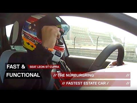 SEAT Cupra Estate breaks record at Nürburgring - Advertising