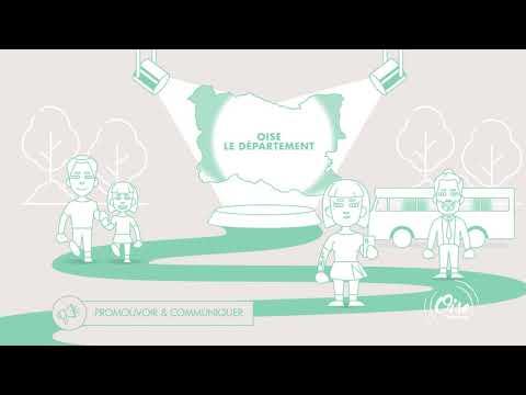 Oise Tourisme - Motion design - Animation