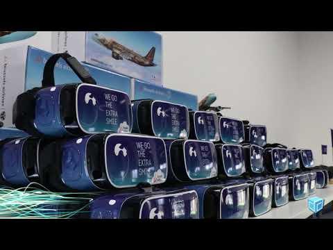 Interactieve 360° experience - Brussels Airlines - Innovatie