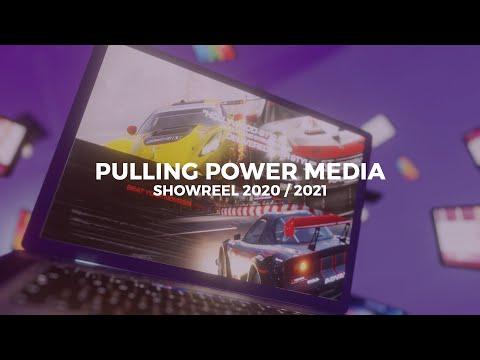 Pulling Power Media 2021 Showreel - Graphic Design