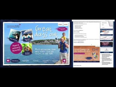 Branded Content Strategy for the English Riviera - Social Media