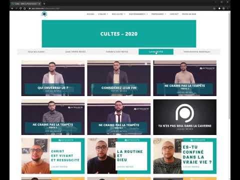 Création du site Porte Ouverte Chrétienne de Reims - Création de site internet