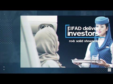 Eifad Saudi chartered airlines Saudi Arabia - Movie