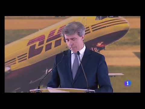 Inauguración Hub DHL Aeropuerto de Madrid - Relaciones Públicas (RRPP)