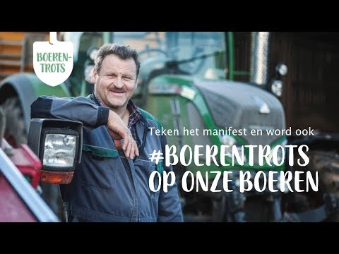 """Boerenbond campagne """"#boerentrots"""" - Branding & Positionering"""