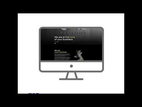 Core Facilities Website - Website Creation