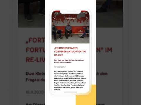 Fortuna Düsseldorf - Offizielle Vereins App - Mobile App