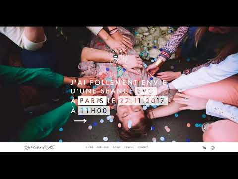 Epouse-moi cocotte : Séances photos et e-shop - Création de site internet