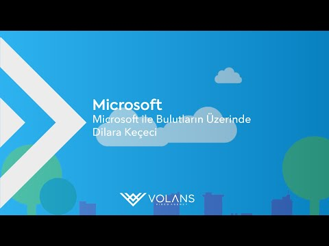 Microsoft Over the Clouds with Microsoft   Dilara