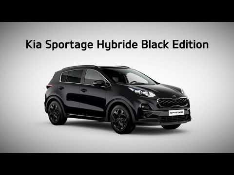 Kia Sportage Black Edition - Publicité